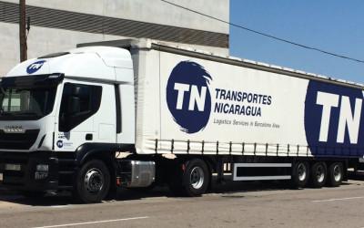 Transportes Nicaragua adquiere 3 tractoras IVECO STRALIS 460